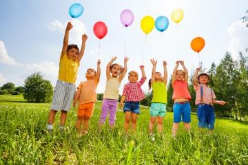 Children's Day - Much joy for all Children! Special day. The best puzzle zone for kids.