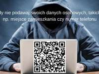Network security - One of the principles of safe use of the network and the next code qr