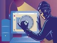 Protect your personal data! - Cracker (z ang., dosłownie łamacz) – osoba zajmująca się łamaniem zabezpieczeń komputerowych