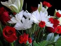 Blumen cd - Blumenstrauß aus verschiedenen Blumen