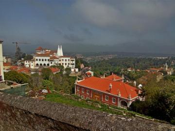 Palais Sintra-National - Une belle vue à Sintra