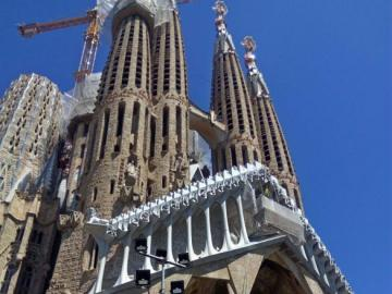 Barcelone - Une belle vue de Barceloni