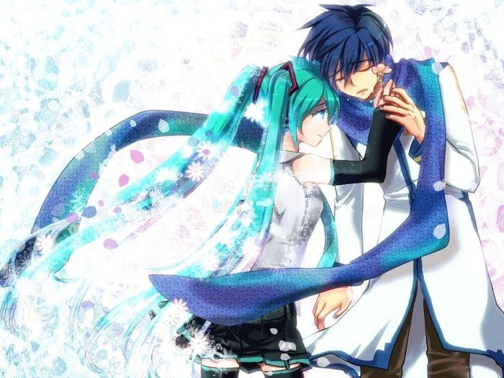 Anime pár - Miku és Kaito a legjobb pár (15×15)