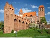 Kwidzyn's trots - Kathedraal en kasteelcomplex in Kwidzyn