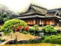 Templo budista. Japão.