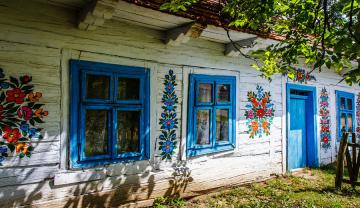Cottage house - colorful jigsaw puzzle