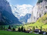 Природа на швейцарските Алпи