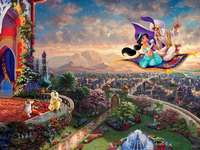 Thomas Kinkade Aladdin