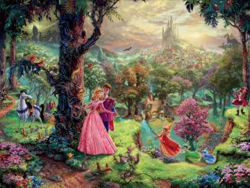 Thomas Kinkade Disney Princess - Thomas Kinkade puzzles