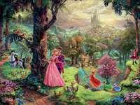 Thomas Kinkade Disney hercegnő