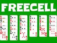 Freecell puzzle játékok