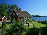 Nyár a tónál, Svédországban.