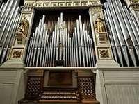 orgel - educatieve puzzel op een muziekinstrument