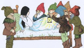 extremely - dwarfs by the bed