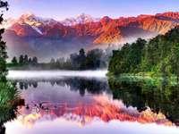 Nouvelle-Zélande. - La beauté de la Nouvelle-Zélande.