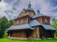 Orthodoxe. - Une église en bois quelque part en Pologne.