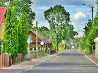 Le village de Suchowola. - Village de Suchowola en Podlasie.