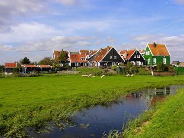 Paysage hollandais - Paysage hollandais.