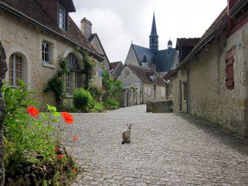 Village de Montrésor sur la Lo - Village de Montrésor sur la Loire. France.