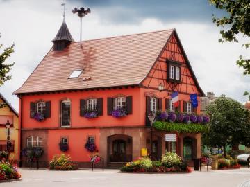 Beinheim. France. - La ville de Beinheim en France.
