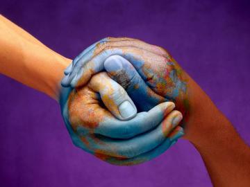 une main pour le monde - le syndicat des hommes du monde
