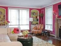 Salong i rosa