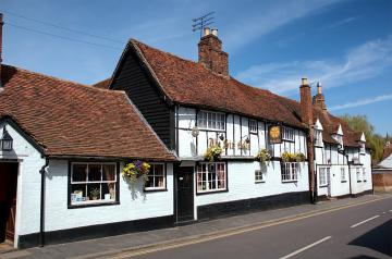 The village of St Albans. Engl - The village of ST Albans. England.
