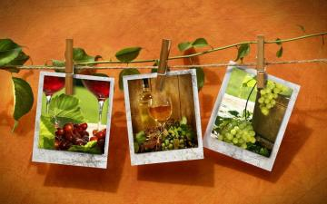 spożywka - pictures of fruits and vegetables on a string