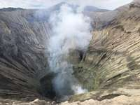 Кратер на вулкани Бромо