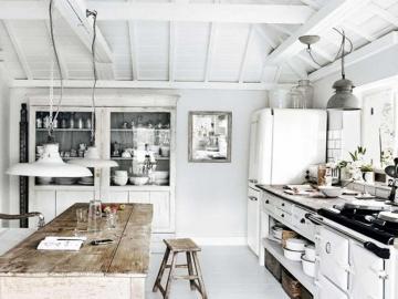 Decoración de cocina - Una idea para la cocina, la disposición de la cocina.