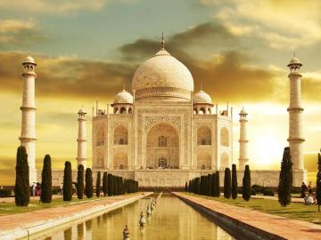 Wonder of the World - One of the seven wonders of the world, located in India.