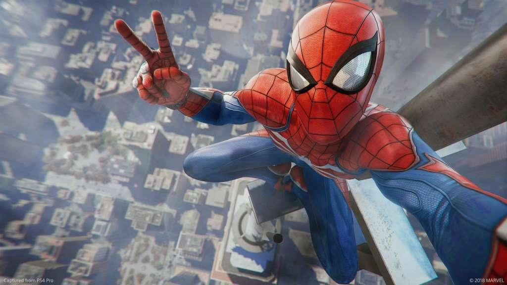 Spider-Man - Spider-man Marvel PlayStation 4 (10×10)