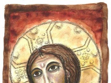 San damiano - cara crucificada de san damiano