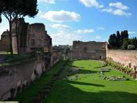Rome - Palatine - Rome, Palatine. Een bezoek waard.