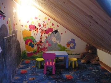 Kącik dla dziecka - Kolorowy kącik dla dziecka.