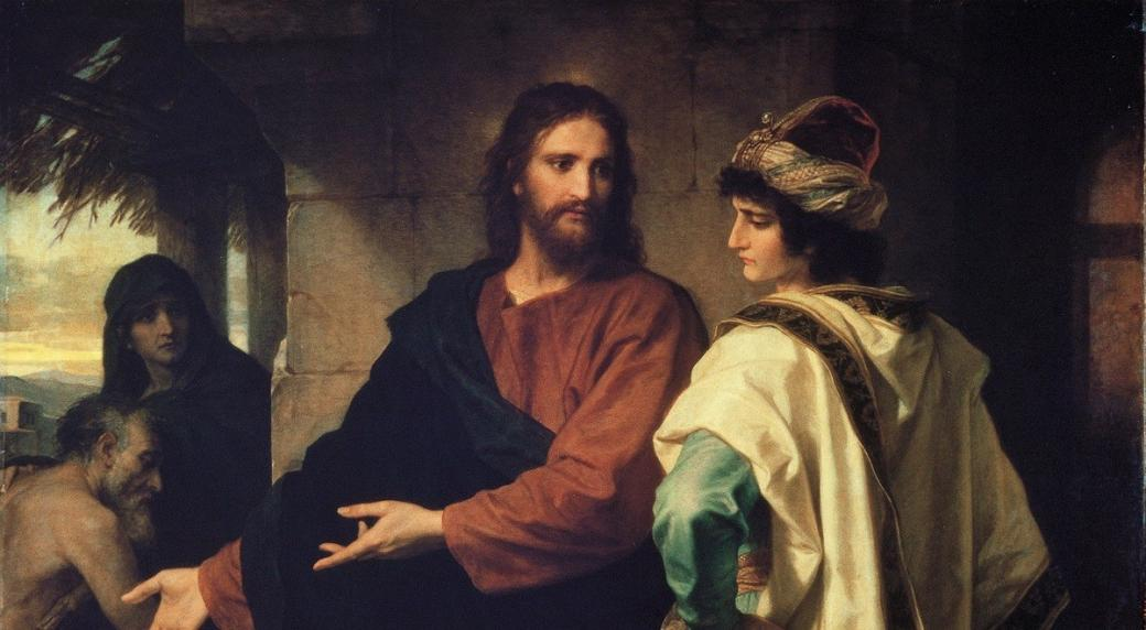 Rich young man and YAHUSHUA - Mk 10, 17-27 17 When he was going on his way, someone came and fell to his knees before him, asking
