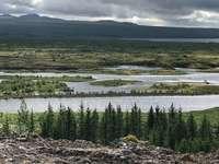 Vizualizări în Islanda - Vederi frumoase ale Islandei