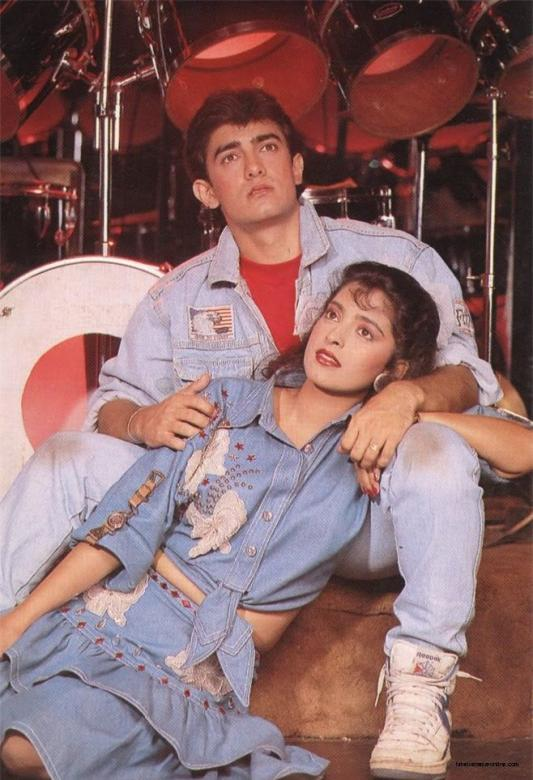 Juhi Aamir & - Juhi et Aamir sur la séance photo (10×10)