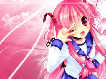 Ragazza da anime - Anime Girl Wallpaper