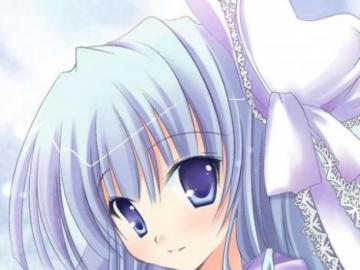 Ragazza da anime - Immagine di sfondo di una ragazza