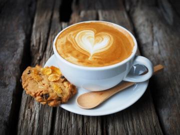 Galleta y cafe - Las galletas y el café son muy divertidos.