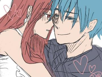 Fairy Tail - Erza and Jellal idealna para Love
