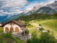 Svájci Alpok.
