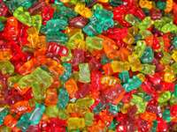 delicious jelly beans - Delicious jelly beans. Colored jelly beans each child eats them. Colorful jelly beans, every child e