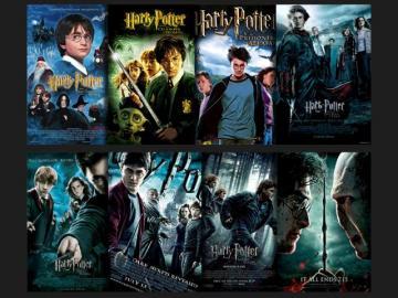 Harry Potter - alle Teile von Harry