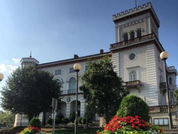 Le château de Sułkowski - Le château de Sułkowski à Bielsko-Biała