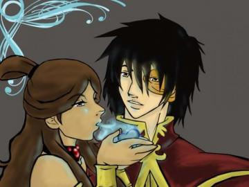 Aanga's legend - Katara and Zuko couple & Love