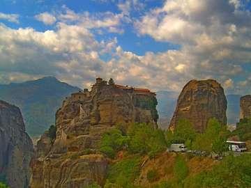 Paysage - Grèce - Un beau paysage en Grèce