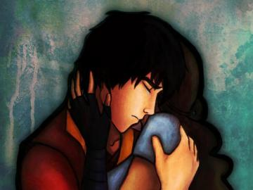 La leggenda di Aanga - Katara e Zuko coppia e amore