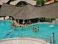 Meeting at the pool. - I would like to invite everyone to meet there tomorrow, for example. We'll talk about puzzles a